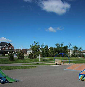 Childrens park in the Findlay Creek Neighbourhood