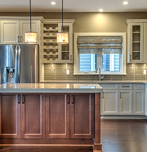 Beautiful Kitchen inside Findlay Creek Model Home