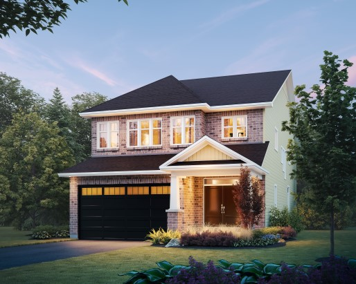 Devon Elevation  by Tamarack Homes