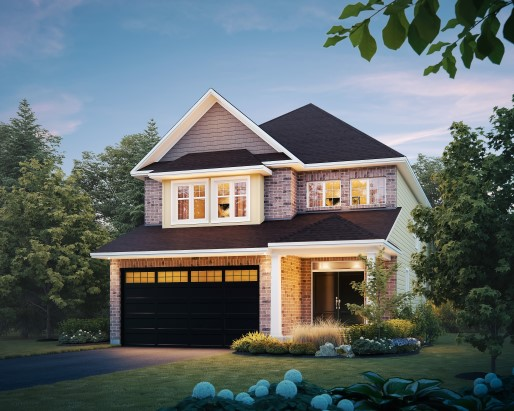 Madison Elevation  by Tamarack Homes