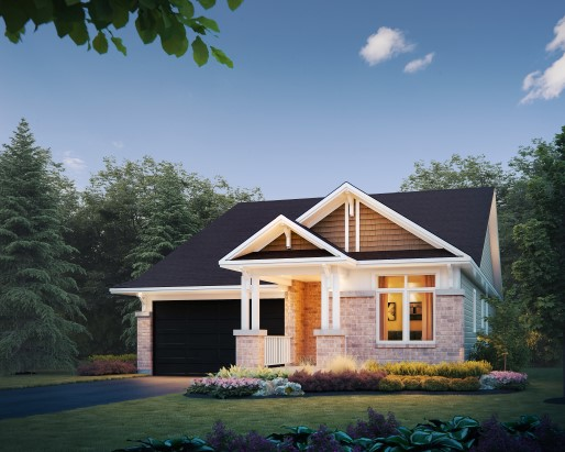 Cardinal Elevation  by Tamarack Homes