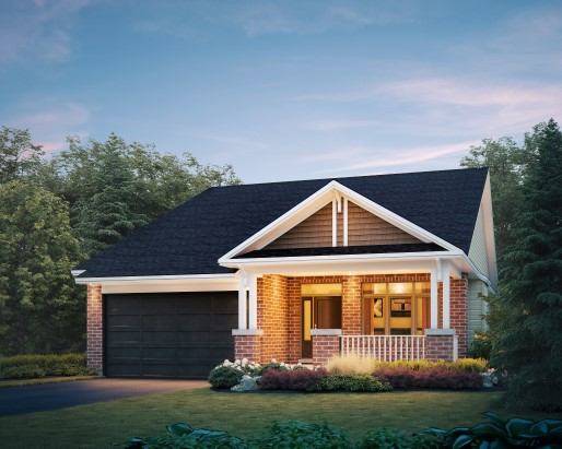 Osprey Elevation  by Tamarack Homes