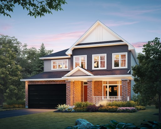St James Elevation A  by Tamarack Homes