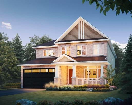 Tamarack Riverview St James Single Family Home Elevation
