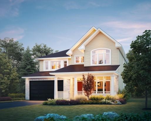 bainbridge 4 bedroom single family new home ottawa new homes for sale