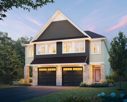 Folkstone Elevation  by Tamarack Homes