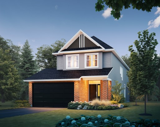 Elevation A  by Tamarack Homes