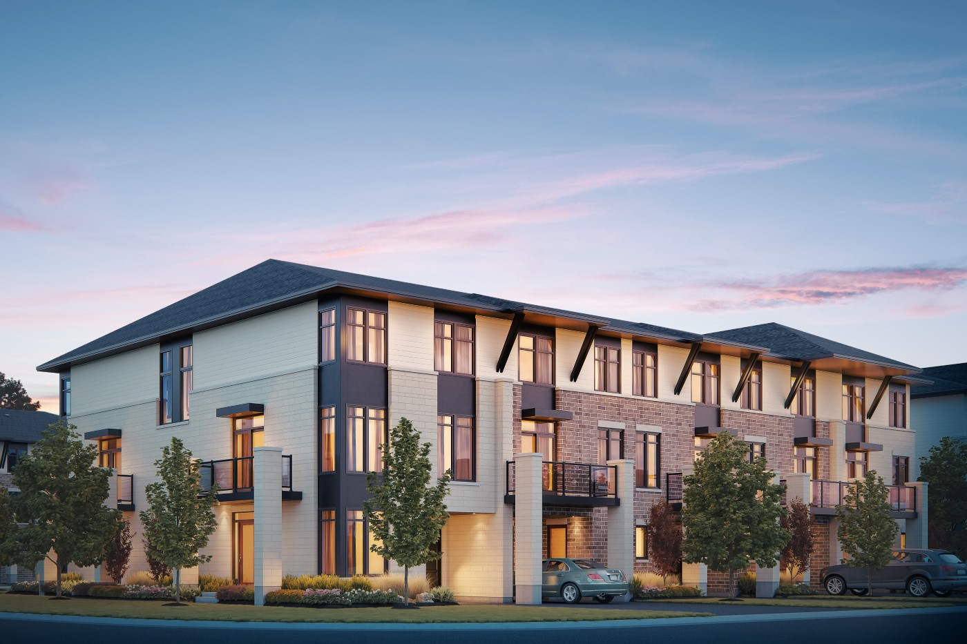 Ashton Elevation A  by Tamarack Homes