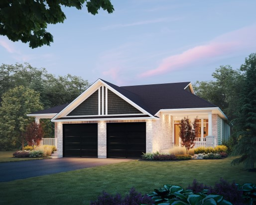 Merlin Elevation  by Tamarack Homes